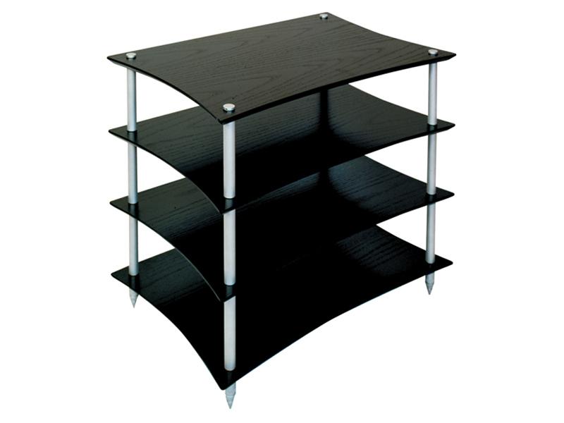 quadraspire q4evo hifi rack 4 shelves hifi12a hifi. Black Bedroom Furniture Sets. Home Design Ideas