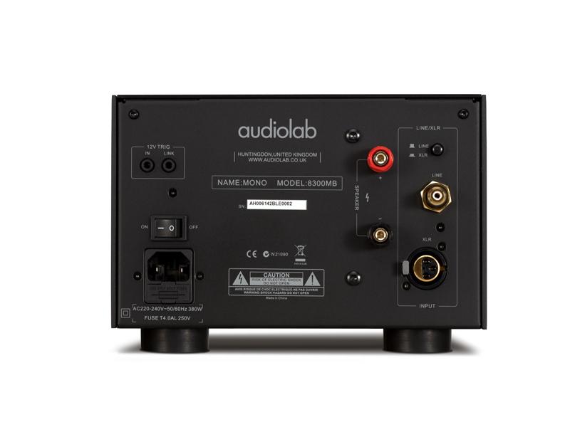 audiolab 8300 mb mono power amplifier hifi12a hifi highend proaudio. Black Bedroom Furniture Sets. Home Design Ideas